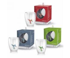 Creano Thermoglas Hummi, (Set, 3 tlg.), hitzebeständig, 3-teilig farblos Gläser-Sets Gläser Glaswaren Haushaltswaren