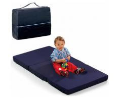 Klappmatratze FUN FOR KIDS Sleeper Uni Navy 60x120 cm Hauck 6 cm hoch, blau, navy