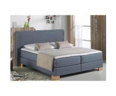 Home affaire Boxspringbett Dayton blau Einzelbetten Betten Komplettbetten