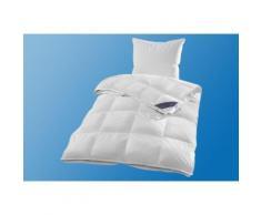 Daunenbettdecke + Federkissen, Jonas, Hanse by RIBECO, (Spar-Set) weiß Bettdecken Set Bettdecken, Kopfkissen Unterbetten Bettwaren-Sets