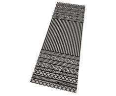 Zala Living Küchenläufer Lani, rechteckig, 5 mm Höhe, waschbar, In- und Outdoor geeignet schwarz Teppichläufer Läufer Bettumrandungen Teppiche