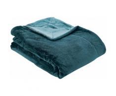 s.Oliver Wohndecke Doublesoft, praktische Wendedecke blau Decken