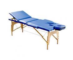 SportPlus Massageliege SP-MAS-001-K blau Massagekissen, -matten -auflagen Massage Muskeltraining Körperpflege Gesundheit