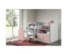 Vipack Hochbett Bonn rosa Kinder Hochbetten Kinderbetten Betten