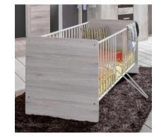 Babybett, Bergamo weiß Baby Gitterbetten Babybetten Babymöbel