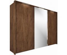 nolte Möbel Schwebetürenschrank Marcato 1B, braun, nussbaum Dekor