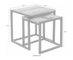 SIT Satztisch Old Pine (Set, 2 Stück) beige Kleinmöbel Tisch