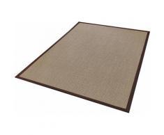 Dekowe Läufer Brasil, rechteckig, 10 mm Höhe, Teppich-Läufer, gewebt, Obermaterial: 100% Sisal, mit Bordüre, Flur braun Teppichläufer Teppiche und Diele