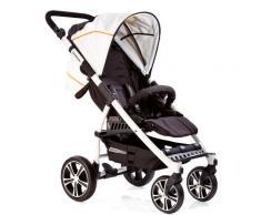 Gesslein Kinder-Buggy S4 Air+ White, Schwarz/Weiß weiß Kinder Liegebuggys Buggys Kinderwagen Buggies