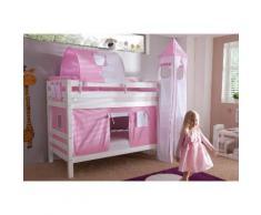 Relita Etagenbett, Set 4-tlg. rosa Kinder Kinderbetten Kindermöbel Etagenbett