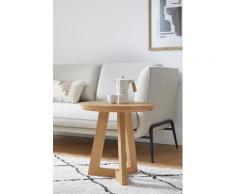 andas Beistelltisch Tonje, Design by Morten Georgsen, aus massiver Eiche beige Beistelltische Tische