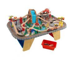 KidKraft Spieltisch Wasserfall Eisenbahntisch & Spielset bunt Kinder Ab 3-5 Jahren Altersempfehlung Spieltische