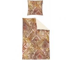 Bettwäsche Juwel Irisette, braun, kupferfarben