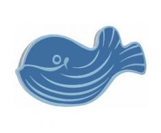 Kleine Wolke Antirutsch-Aufkleber Mini Moby, Fische blau Wanneneinlagen Badewannen Whirlpools Bad Sanitär