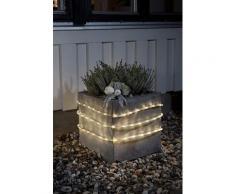 KONSTSMIDE LED Lichterschlauch mit Lichtsensor und Timer farblos Lichterketten Lichtschlauch Dekoleuchten Lampen Leuchten
