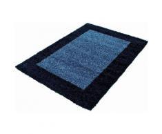 Ayyildiz Hochflor-Teppich Life Shaggy 1503, rechteckig, 30 mm Höhe, Wohnzimmer blau Schlafzimmerteppiche Teppiche nach Räumen
