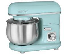 CLATRONIC Küchenmaschine KM 3711 mint-grün, 1100 Watt, Schüssel 5 Liter grün Multifunktionsküchenmaschinen Küchenmaschinen Haushaltsgeräte ohne Kochfunktion