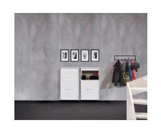 hammel Schuhkipper MISTRAL weiß Schuhschränke Garderoben Sideboards