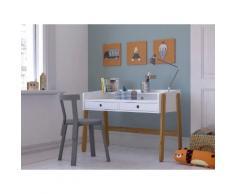 Lüttenhütt Schreibtisch Dolidoo, in skandinavischem Look, Home schooling weiß Kinder Kinderregale Kindermöbel