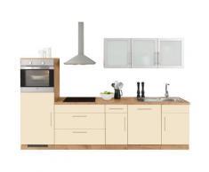 wiho Küchen Küchenzeile Aachen gelb Küchenzeilen ohne Geräte -blöcke Küchenmöbel Arbeitsmöbel-Sets