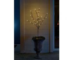 KONSTSMIDE LED Lichterzweig mir runden Dioden braun Kunstzweige Kunstpflanzen Wohnaccessoires Dekoleuchten