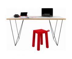 TemaHome Schreibtisch weiß Computertische Bürotische und Schreibtische Büromöbel Tisch