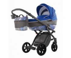 knorr-baby Kombi Kinderwagen Set, »Alive Energy, azurblau«, blau, Unisex, azurblau