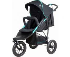 knorr-baby Jogger-Kinderwagen, »Joggy S, schwarz-grün«, schwarz, Unisex, schwarz-grün