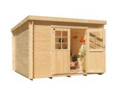 Kiehn-Holz Gartenhaus, Hummelsee 3 beige Gartenhäuser Garten Balkon