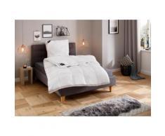 Hanse by RIBECO Kunstfaserbettdecke + Kopfkissen Max, (Spar-Set), Unschlagbares Preisleistungsverhältnis weiß Allergiker Bettdecke Bettdecken Bettdecken, Unterbetten