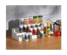 Ruco Gewürzständer, (Set, 2-tlg.) weiß Gewürzregale Küchen-Regale Küchenmöbel Gewürzstreuer