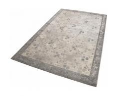 Teppich Flora Esprit rechteckig Höhe 12 mm maschinell gewebt, grau, Neutral, grau
