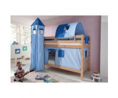 Relita Etagenbett, Set 4-tlg. blau Kinder Kinderbetten Kindermöbel Etagenbett