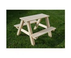 GASPO Kindersitzgruppe, Picknicktisch, BxTxH: 80x48x80 cm beige Kinder Kindersitzgruppe Kinderstühle Kindermöbel
