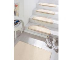 Stufenmatte Fancy HANSE Home stufenförmig Höhe 7 mm maschinell getuftet, beige, beige