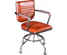 SIT Drehstuhl This&That, mit Armlehnen Holzauflage braun Drehstühle Bürostühle Büromöbel