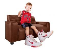 W.SCHILLIG 2-Sitzer william mini, Kindersofa im edlen Look, Breite 112 cm braun Sofas Couches Möbel sofort lieferbar