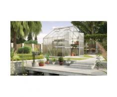 KONIFERA Gewächshaus Titania 6700 silberfarben Gewächshäuser Garten Balkon