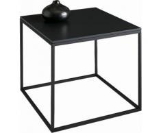 INOSIGN Couchtisch, quadratisch 50 cm, schwarz, schwarz