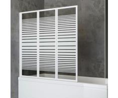 Schulte Badewannenaufsatz Komfort, BxH: 127 x 121 cm, zum Kleben oder Bohren weiß Duschwände Duschen Bad Sanitär