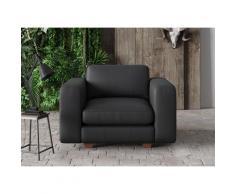 machalke Sessel valentino schwarz Ledersessel Wohnzimmer