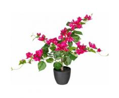 Kunstpflanze Bougainvillea, rosa, rosa