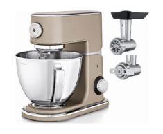 WMF Küchenmaschine Profi Plus, platin bronze, 1000 Watt, Schüssel 5 Liter goldfarben Multifunktionsküchenmaschinen Küchenmaschinen Haushaltsgeräte ohne Kochfunktion