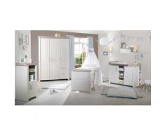 roba Babyzimmer-Komplettset Felicia (Set, 3-tlg) weiß Baby Baby-Möbel-Sets Babymöbel Schlafzimmermöbel-Sets