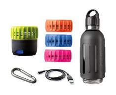 SDIGITAL Trinkflasche Spritz - Workout Kit grau Aufbewahrung Küchenhelfer Haushaltswaren Trinkflaschen