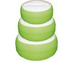 KING Thermobehälter Cosmos (Set, 3-tlg.) grün Küchenhelfer Lebensmittelaufbewahrungsbehälter