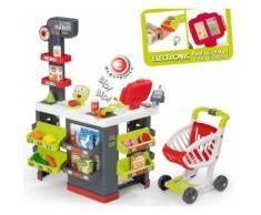 """Smoby Kaufladen """"Supermarkt mit Einkaufswagen"""", bunt, bunt"""