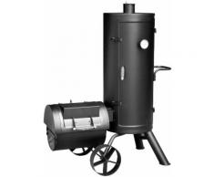 El Fuego Smoker Orenda, BxTxH: 102x67x145 cm schwarz Grills Garten Balkon