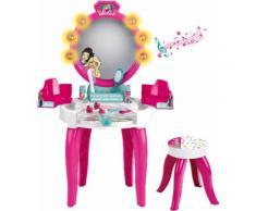 Klein Schminktisch Barbie Schönheitsstudio mit Zubehör, bunt, bunt