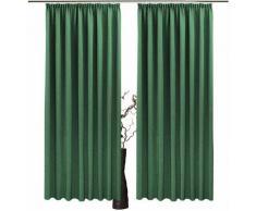 VHG Vorhang Una grün Wohnzimmergardinen Gardinen nach Räumen Vorhänge Gardine